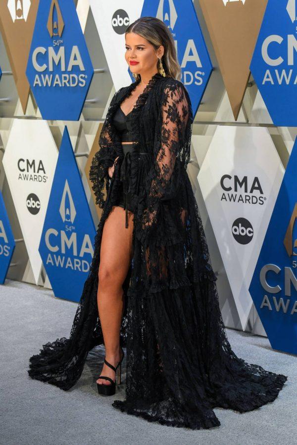 Maren Morris 2020 CMA Awards in Nashville 03