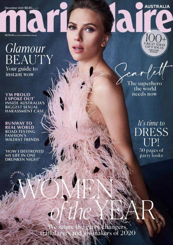 Scarlett Johansson Marie Claire Australia December 2020 02