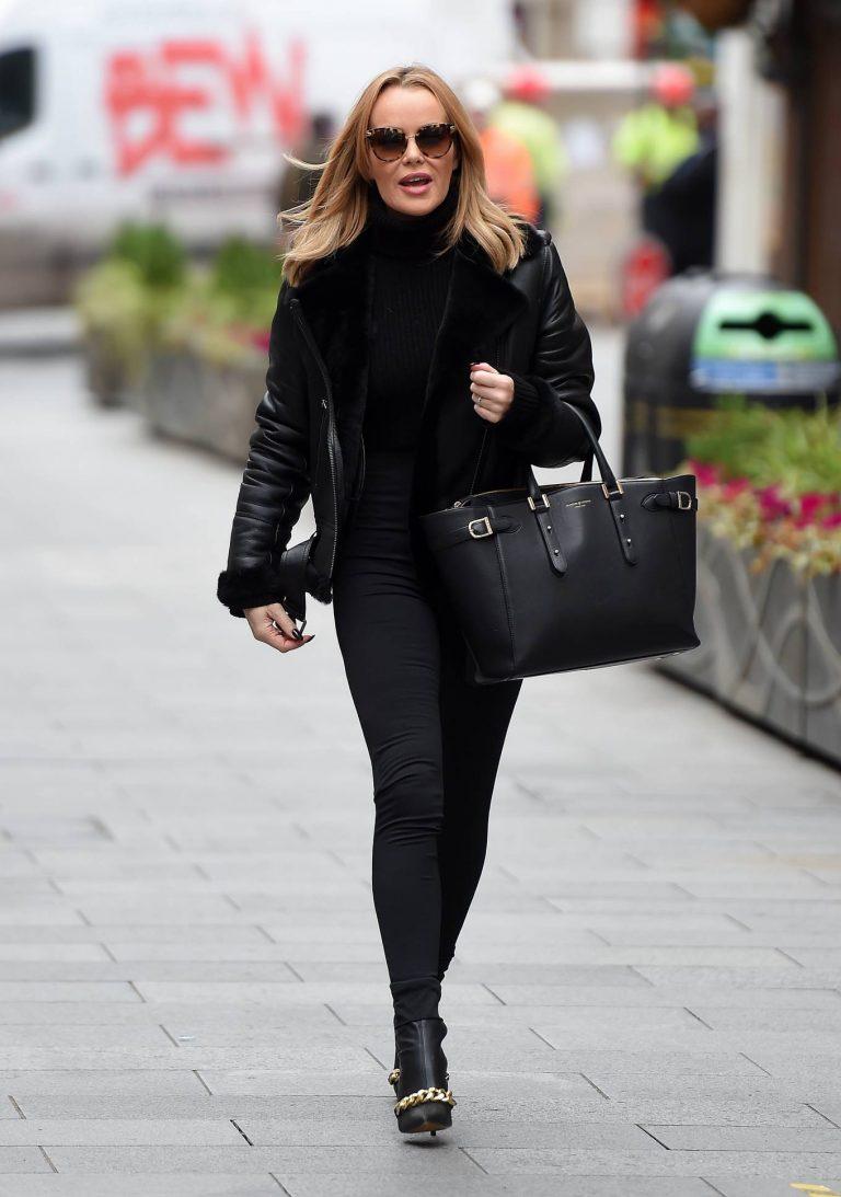 Amanda Holden Look classy while leaving the Global Studios in London 04