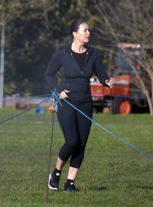 Amanda Lamb Gym Workout in Richmond 01