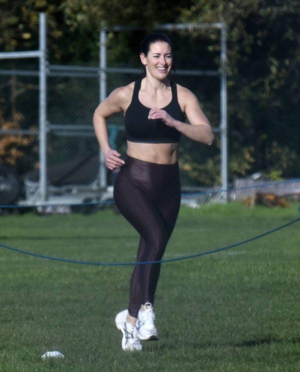 Amanda Lamb Gym Workout in Richmond 02