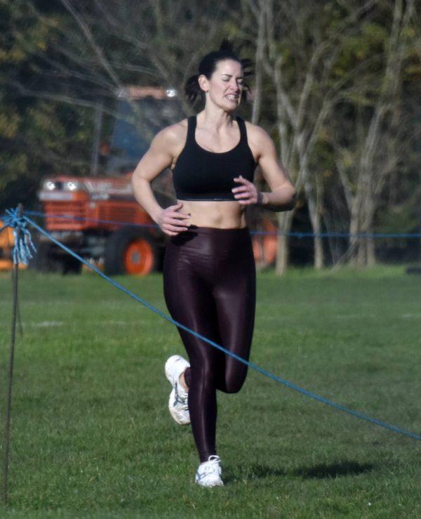 Amanda Lamb Gym Workout in Richmond 06