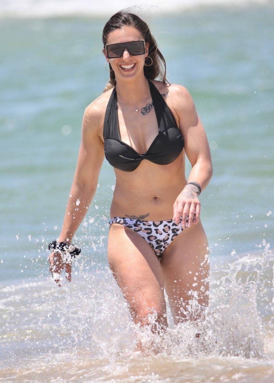 Amanda Micallef In bikini at the beach on the Gold Coast 05