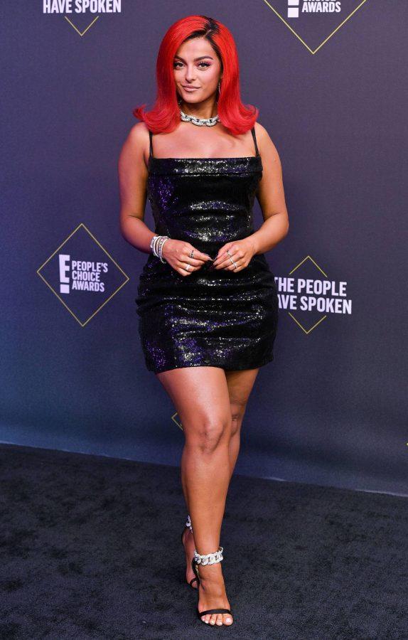 Bebe Rexha 2020 E Peoples Choice Awards in Santa Monica 02