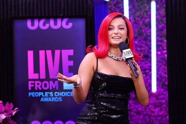 Bebe Rexha 2020 E Peoples Choice Awards in Santa Monica 03