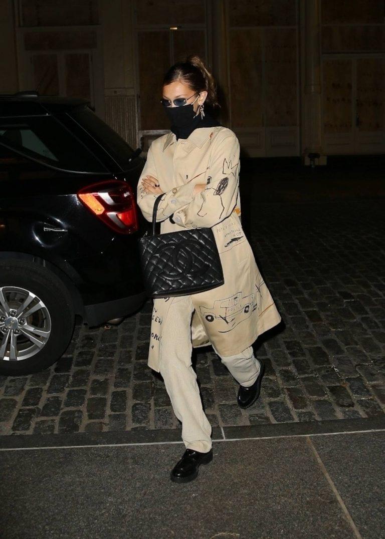 Bella Hadid Seen returning home in NYC 01