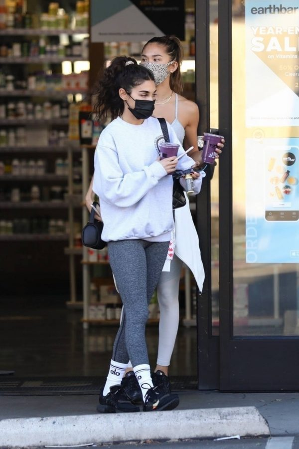 Chantel Jeffries With Jocelyn Chew seen outside Earthbar in West Hollywood 09