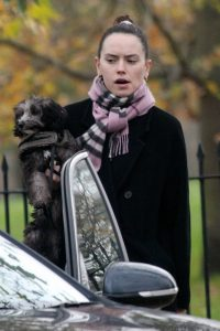 Daisy Ridley Seen out with her dog in Primrose Hill 04