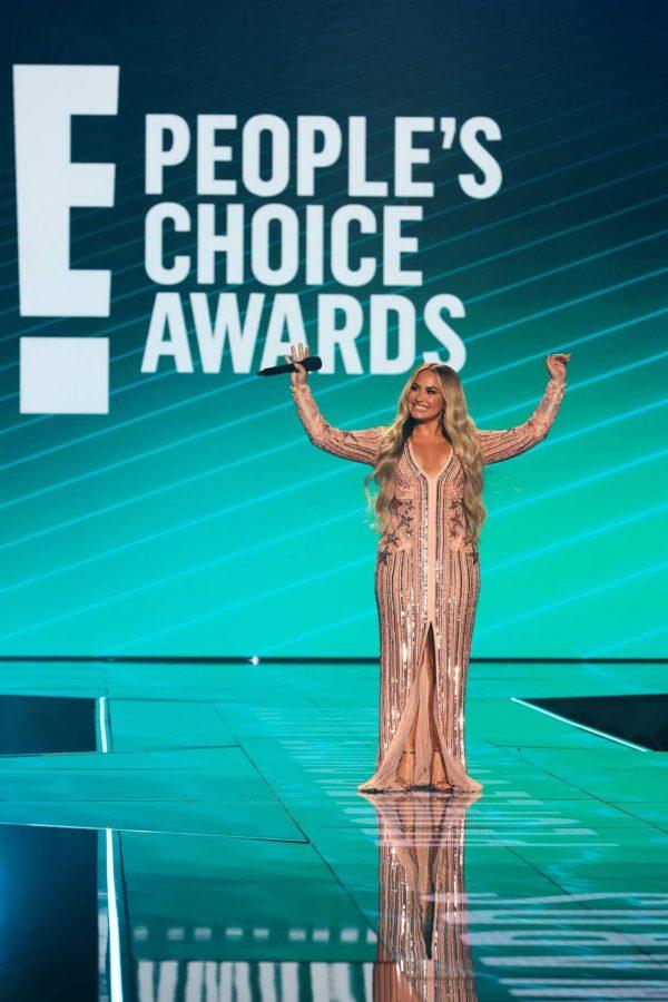 Demi Lovato 2020 E Peoples Choice Awards in Santa Monica 04