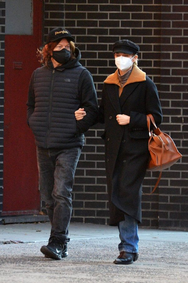 Diane Kruger and Norman Reedus Stroll in New York 01