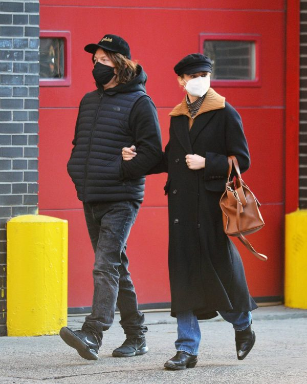Diane Kruger and Norman Reedus Stroll in New York 03
