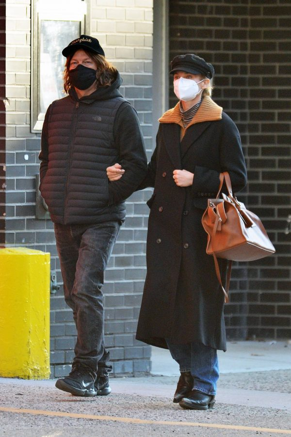 Diane Kruger and Norman Reedus Stroll in New York 05