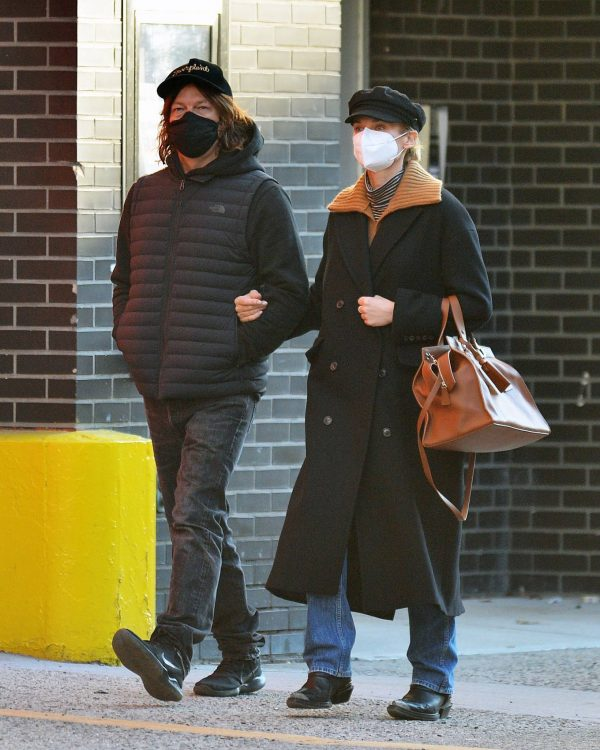 Diane Kruger and Norman Reedus Stroll in New York 06