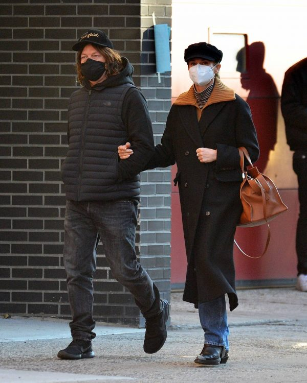 Diane Kruger and Norman Reedus Stroll in New York 07