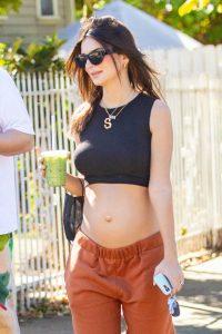 Emily Ratajkowski take a stroll with houseband in Los Angeles 02