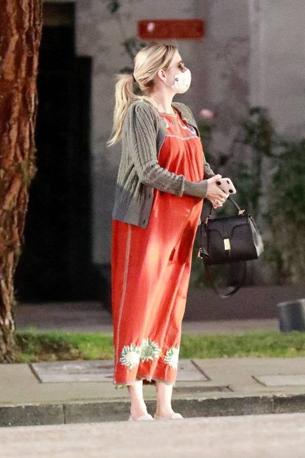 Emma Roberts Seen while out in Los Feliz 10