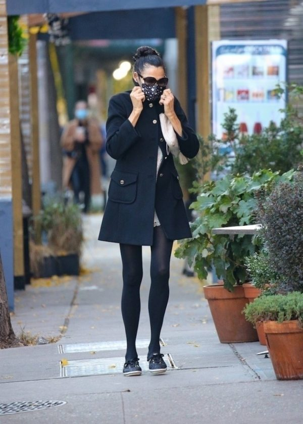 Famke Janssen Looks chic while out in NY 01