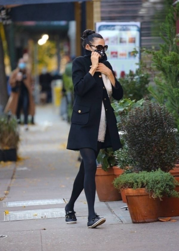 Famke Janssen Looks chic while out in NY 04