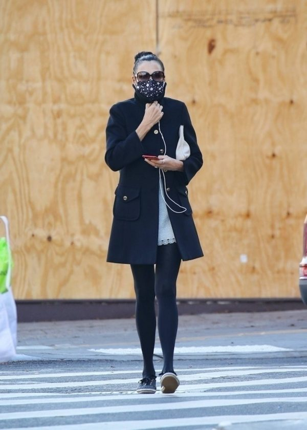 Famke Janssen Looks chic while out in NY 05