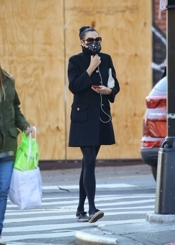 Famke Janssen Looks chic while out in NY 06