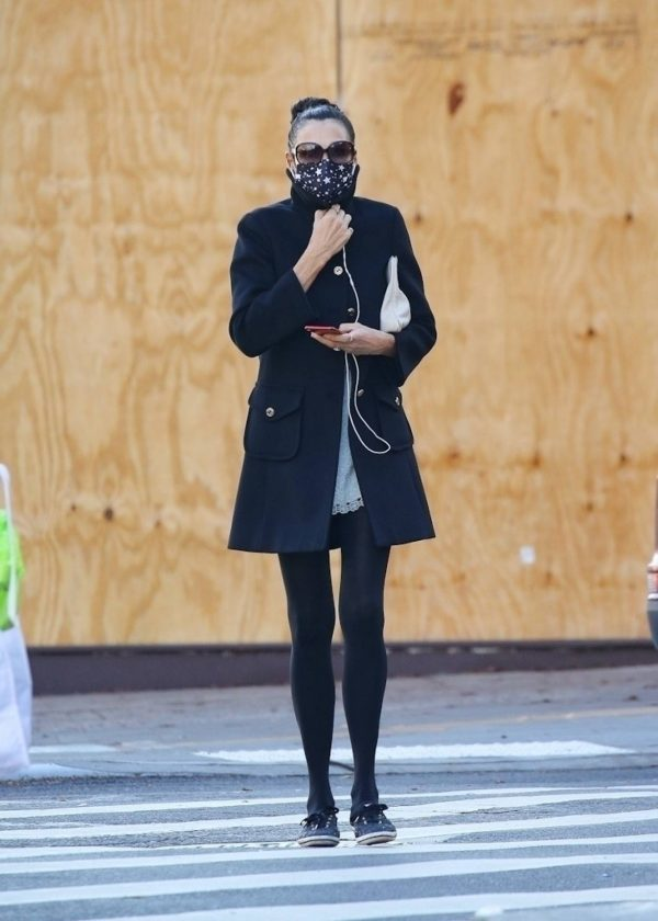 Famke Janssen Looks chic while out in NY 09