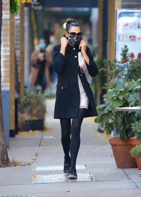 Famke Janssen Looks chic while out in NY 11