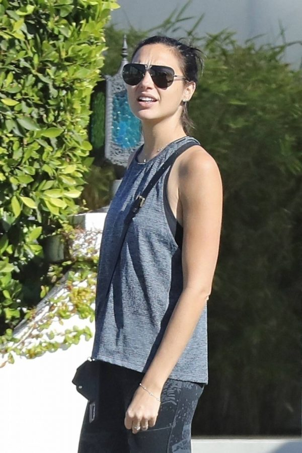 Gal Gadot Seen at her home in Beverly Hills 09
