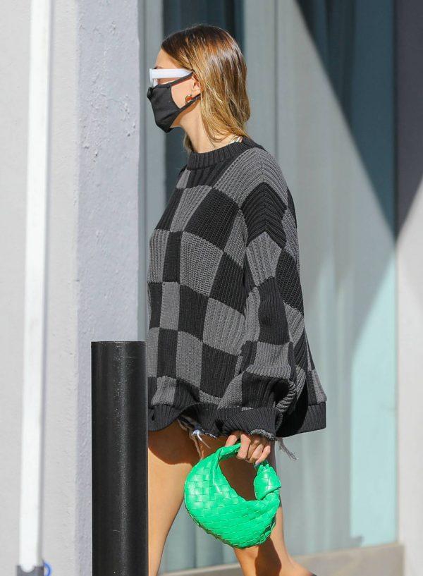 Hailey Baldwin Seen on street of West Hollywood 05