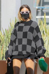 Hailey Baldwin Seen on street of West Hollywood 15
