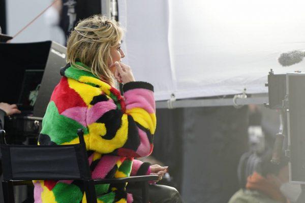 Heidi Klum Filming Germanys Next Topmodel in front of the Hotel Adlon in Berlin 01