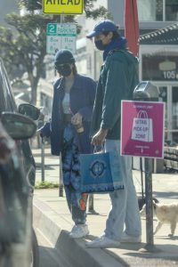 Jacob Elordi and Kaia Gerber Seen picking up dog food in West Hollywood 11