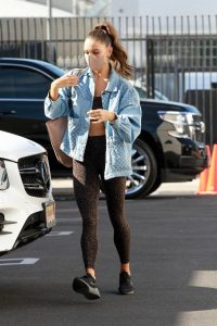 Jenna Johnson Out for dance practice in Los Angeles 10