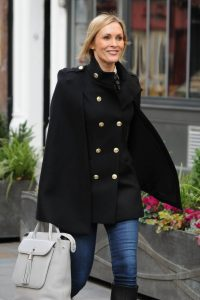 Jenni Falconer Seen leaving Smooth FM in London 01