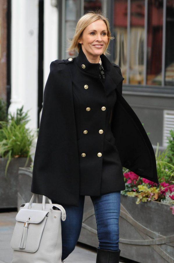 Jenni Falconer Seen leaving Smooth FM in London 01