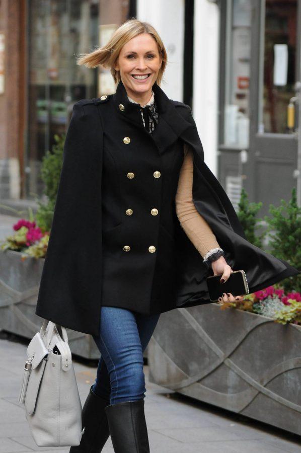 Jenni Falconer Seen leaving Smooth FM in London 03