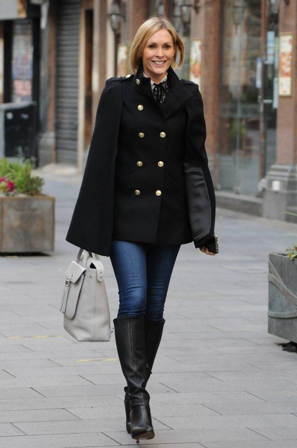 Jenni Falconer Seen leaving Smooth FM in London 05