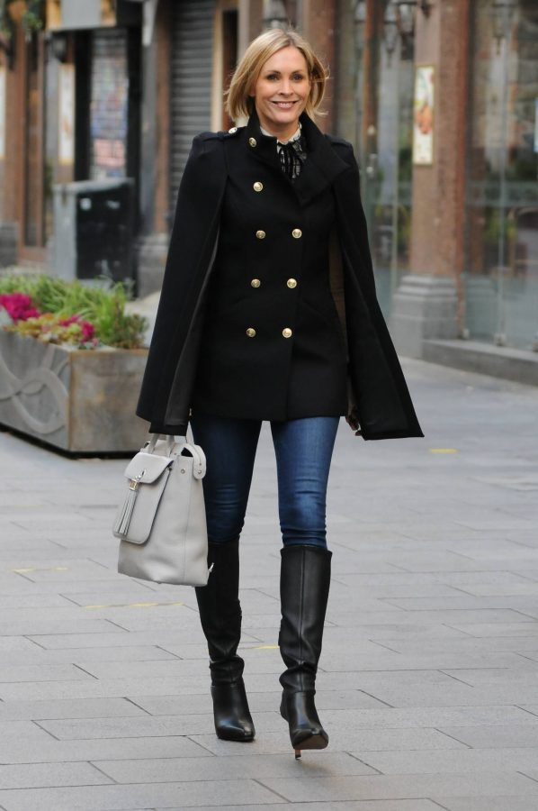 Jenni Falconer Seen leaving Smooth FM in London 09