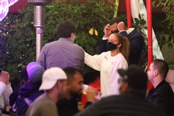 Jennifer Lopez Exit after dinner at Matsuhisa in Beverly Hills 08
