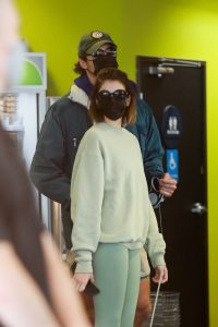 Kaia Gerber and Jacob Elordi Seen outside Earth Bar in West Hollywood 10