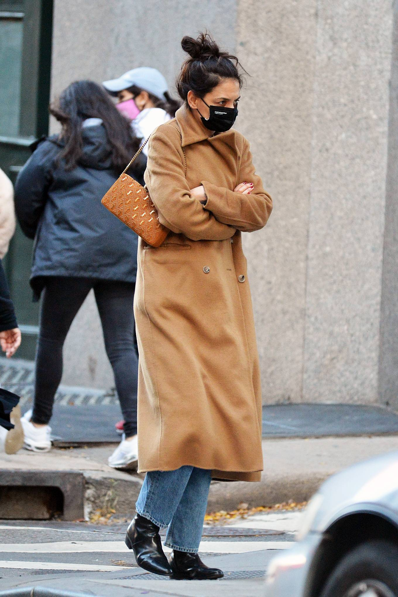 Katie Holmes Out in NYC 06
