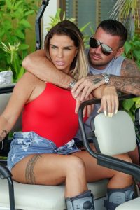 Katie Price and boyfriend Carl Woods on holiday in the Maldives 05