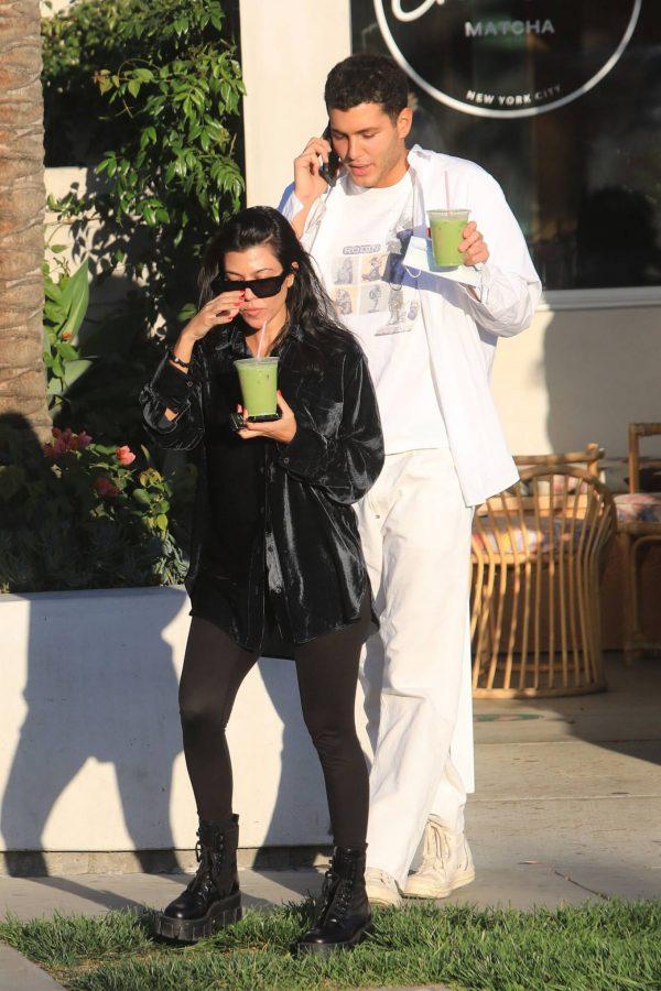 Kourtney Kardashian running errands in Los Angeles 02