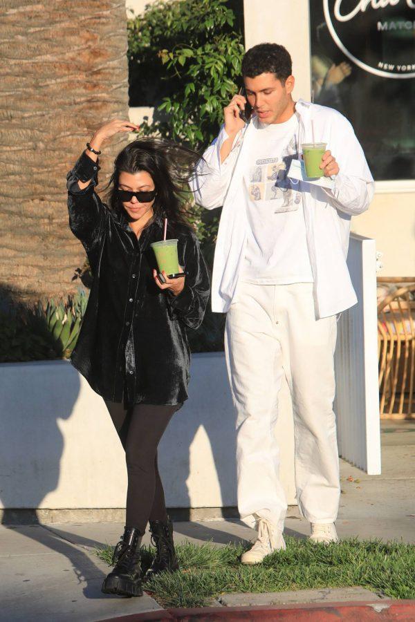 Kourtney Kardashian running errands in Los Angeles 13