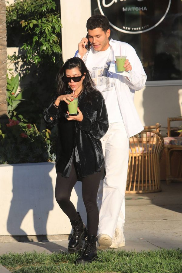 Kourtney Kardashian running errands in Los Angeles 17