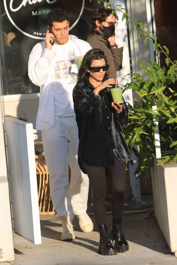 Kourtney Kardashian running errands in Los Angeles 19