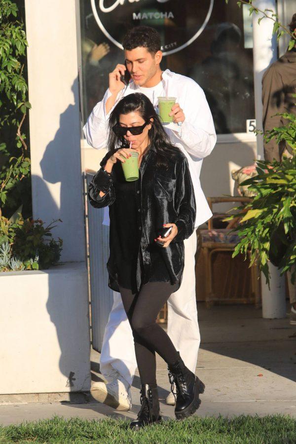 Kourtney Kardashian running errands in Los Angeles 21