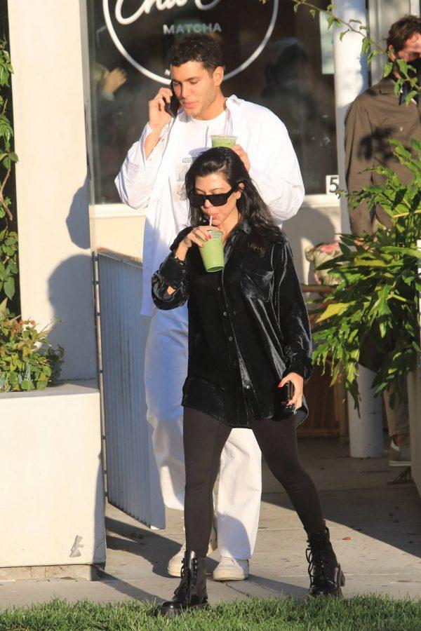 Kourtney Kardashian running errands in Los Angeles 22