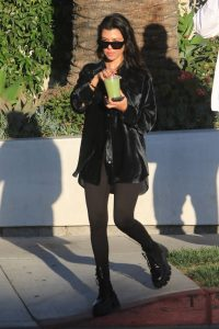 Kourtney Kardashian with Fai Khadra out in LA 15