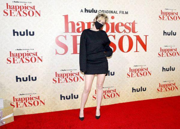 Kristen Stewart Red carpet at Happiest Season Drive In Premiere in Los Angeles 01