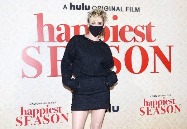 Kristen Stewart Red carpet at Happiest Season Drive In Premiere in Los Angeles 02